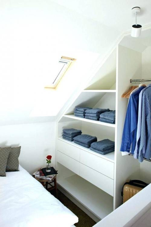 Bedroom Storage Ideas For Sloped Ceilings Attic Bedrooms With Slanted  Ceilings Sloped Ceiling Storage Closets Design Photos Bedroom Storage Ideas  For Sloped
