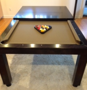 pool table top for dining