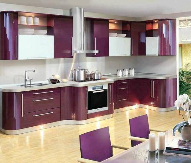 purple  kitchens reviews decoration finished kitchen
