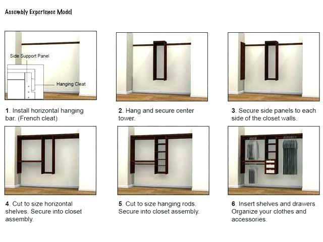 allen roth closet design organizer plug in ideas