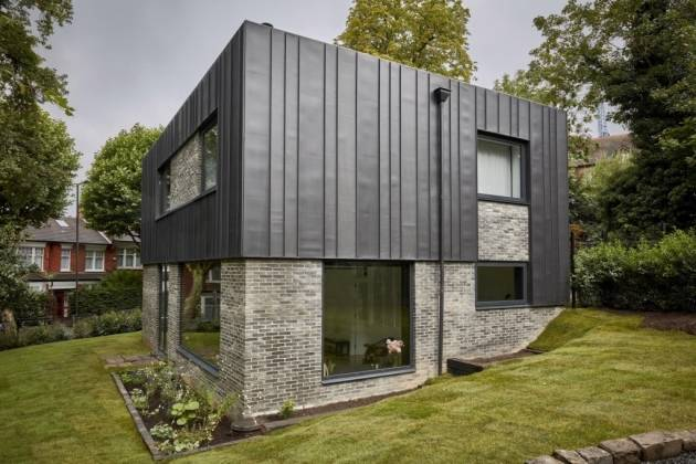 'Spiral Eco Home' the property at Oat Errish in Devon, design by Newcastle