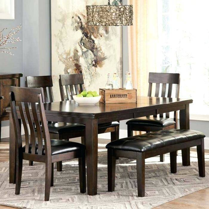 Full Size of Coviar Dining Room Table And Chairs With Bench Set Of 6 Meredy  5pc