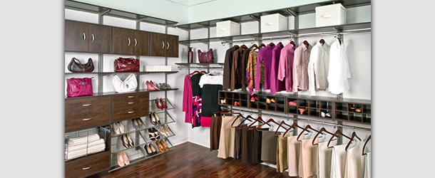 Your closet will be constructed to properly suit your individual  requirements
