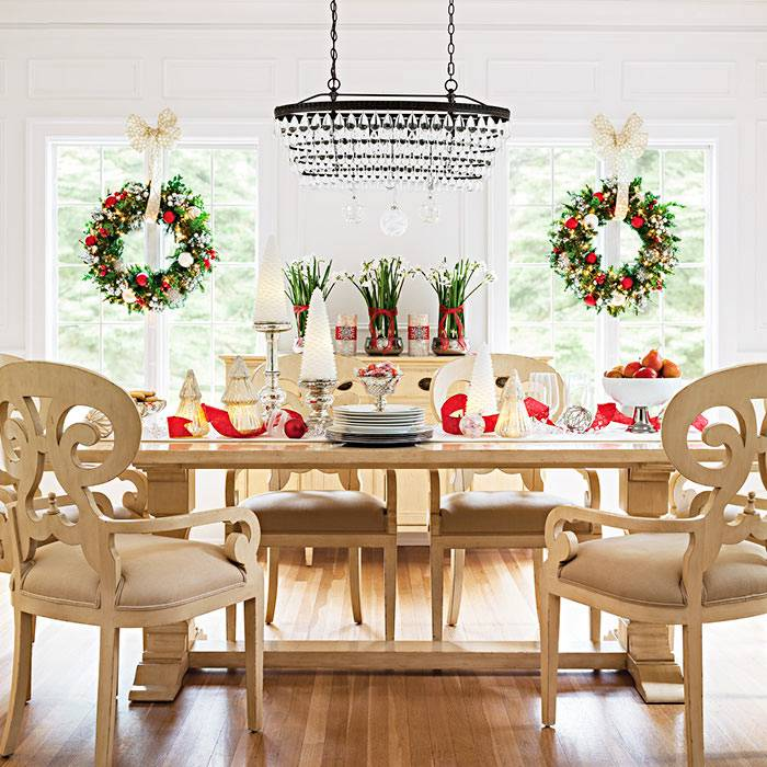 dining room christmas decorations decorating dining room dining table  christmas centerpieces
