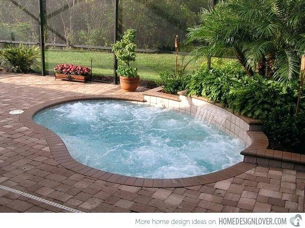 small outdoor pool