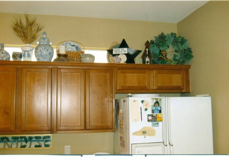 Decor Above Kitchen Cabinets Decorating Diy Ideas Inside Modern  Painting Unfinished Wall Plant Shelf Gl Cabinet