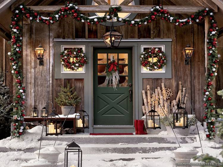 Detail Outdoor Xmas Decorating Ideas Pinterest Fancy Outdoor Christmas  Decorating Ideas Cheap Dma Homes Rhdmaupdorg Interesting Porch Images