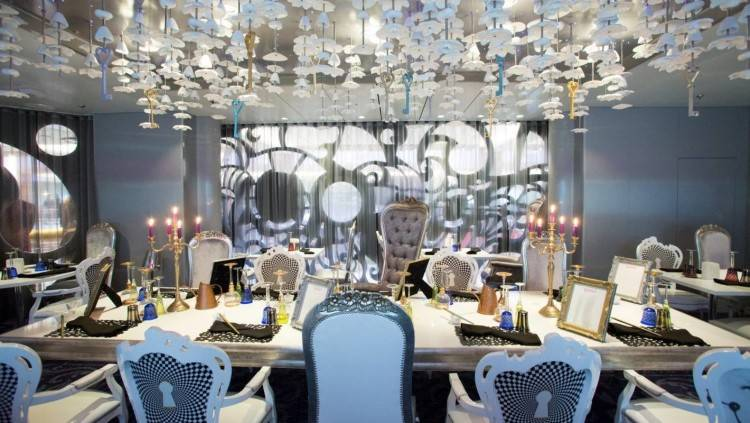 Gourmet dining is a highlight of cruising and passengers on the Ovation of  the Seas are spoilt for choice with over 24 restaurants and bars onboard,