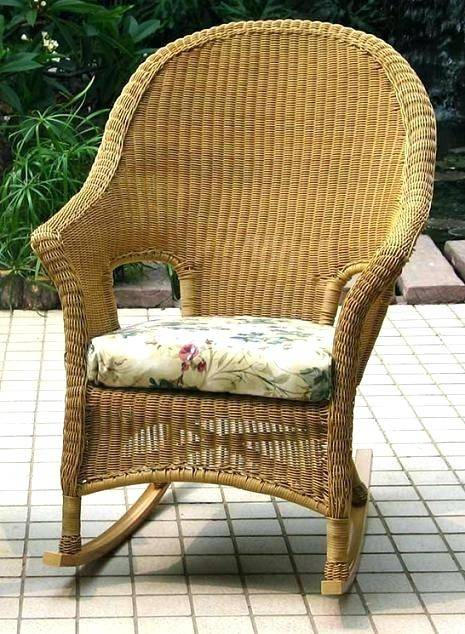 Porch Decorating Ideas: Wooden rocking chairs are perfect for visiting with  the neighbors on the front porch