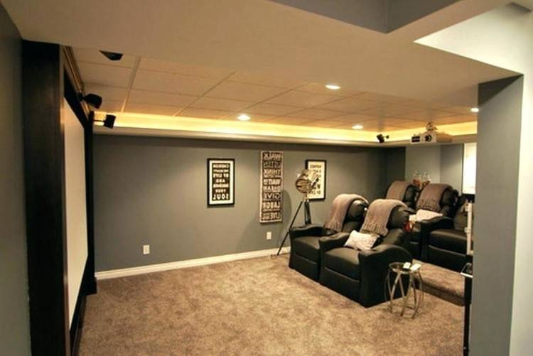 Teen Boy Bedroom Ideas In Grey Theme With Dark Grey Wall And Brown Carpet  Combined With White Wooden Bed And White Wooden Furniture Also Yellow Lamp  And