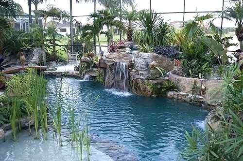 Lagoon Swimming Pool Designs: Nice looking lagoon swimming pool designs  or greater houston residential interior