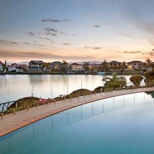 Check out some of the concrete pools Gold Coast leading builders have  designed and built for clients over the years on the Gold Coast, Hinterland  and