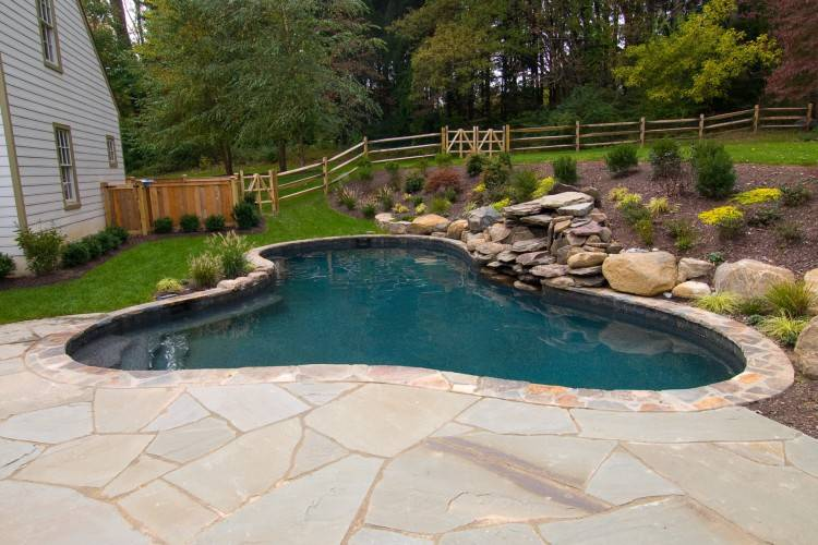 Cool Backyard  Ideas With Above Ground Pools