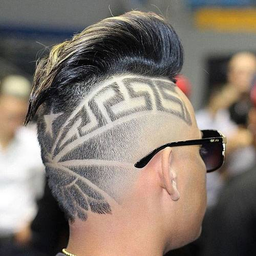Guys who have to attend  formal meetings can get this hairstyle