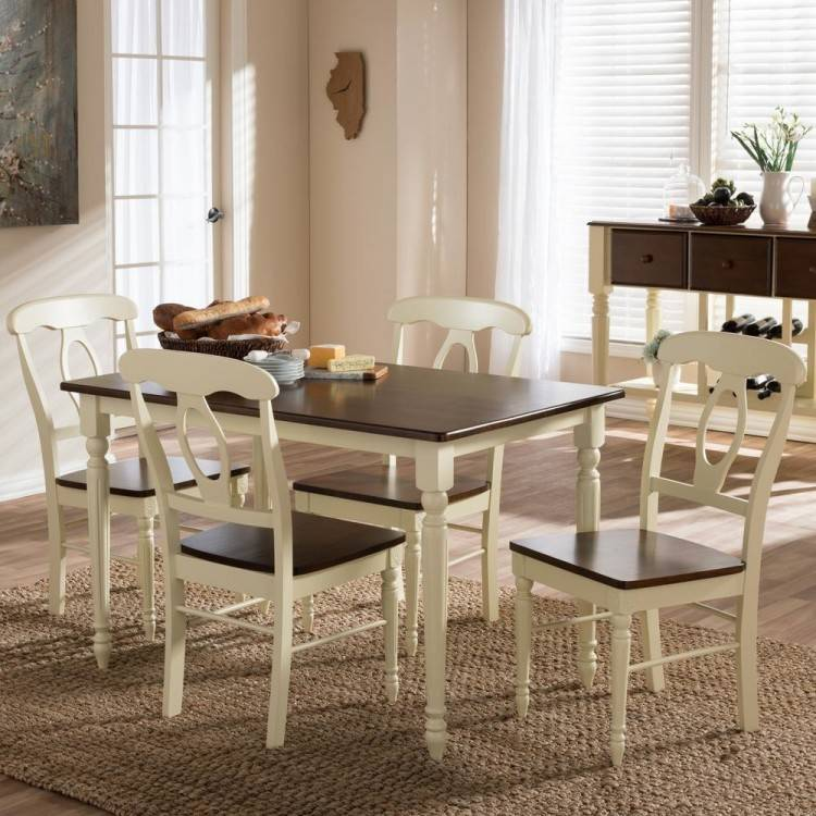 Jaxon 5 Piece Extension Round Dining Set W/Wood Chairs (Qty: 1) has been  successfully added to your Cart