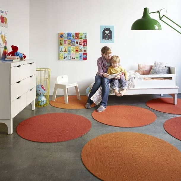 We know round rugs