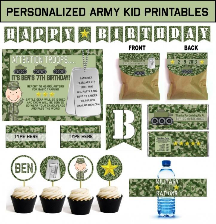 camouflage party ideas supplies hunting birthday on by themed graduation