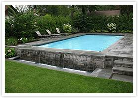 The integrated approach of landscape architecture and pool design marry the  two philosophies for a seamless quality
