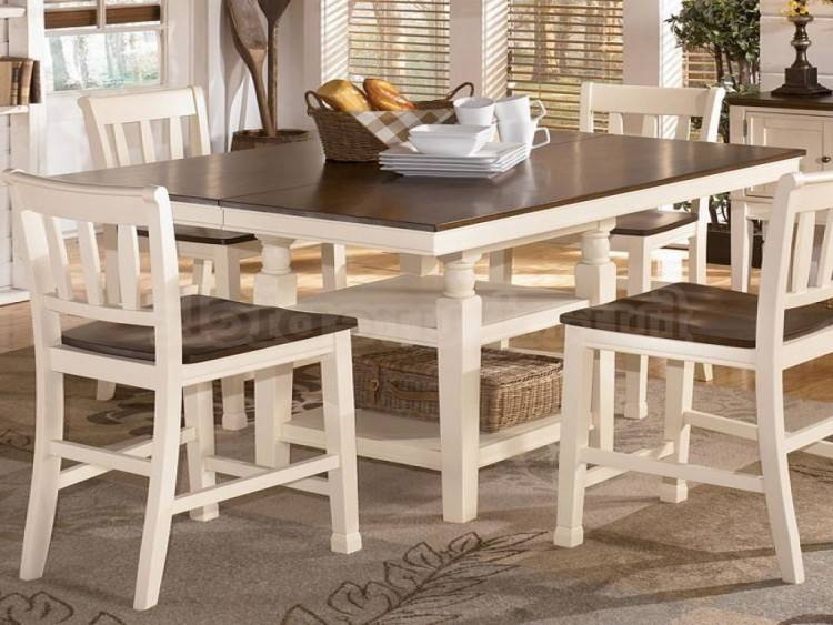 dining room table fresh lovely rustic wood chair new spaces magazine  marsilona ashley furniture set