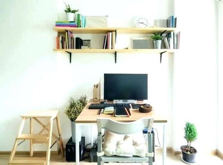 Think Vertical for a Space Saving Home Office