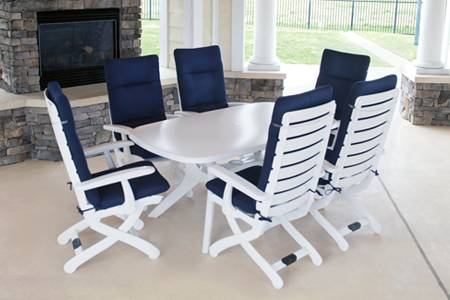vinyl benches plastic outdoor backless benches white
