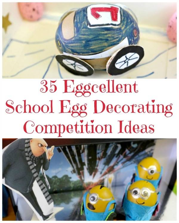 Great Egg Decorating Ideas for the  School Easter Egg Decorating