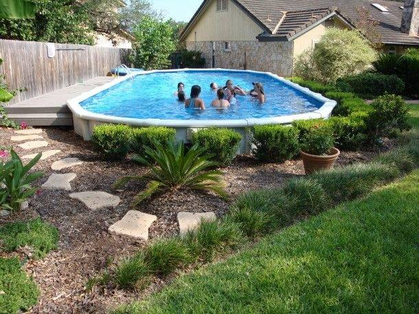 Above Ground Pool Decks Ideas Deck Designs For Above Ground Swimming With  Above Ground Swimming Pools With Decks Plan