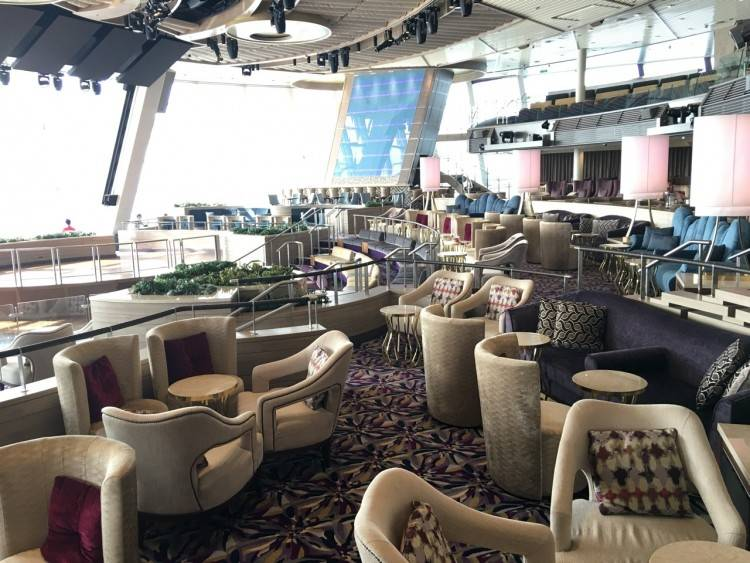 Royal Caribbean's Ovation of the Seas does not feature a Main Dining Room  at all