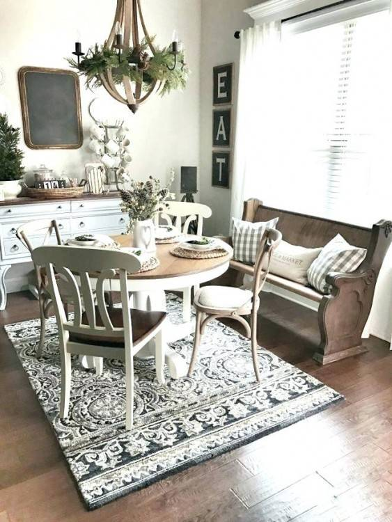 fascinating should you put a rug under a dining room table a round rug in a