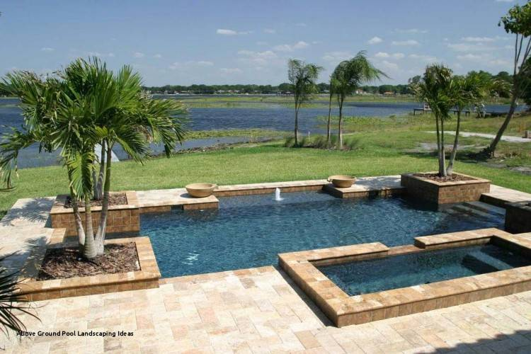 Pools For Small Yards Small Above Ground Pools Beautiful Above Ground Pools  Small Yards In With Above Ground Pools Small Pool Landscaping Ideas For  Small