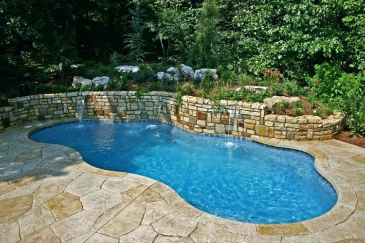 Marvellous Design Small Outdoor Pool Architecture