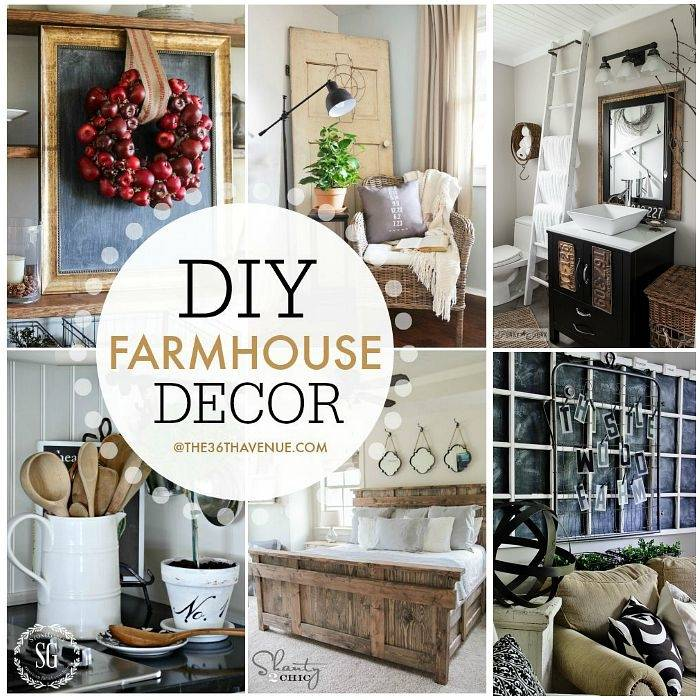 Living Room Decor Ideas inspired by industrial and modern farmhouse design