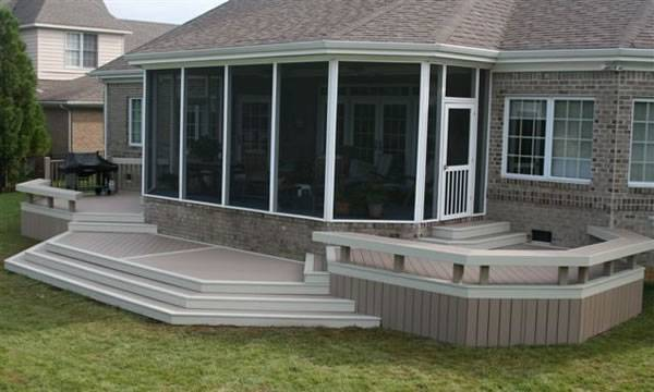 pool  deck ideas pictures painting te around