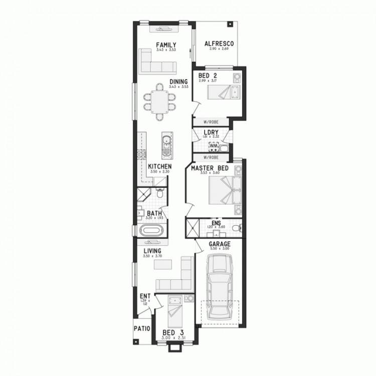 Two Storey House Plans for Corner Blocks Two Storey Homes New Homes In  Perth Wa New
