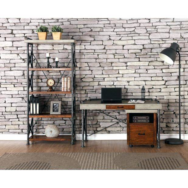 Rustic And Industrial Home Office: Treatment And Appearances  Approach