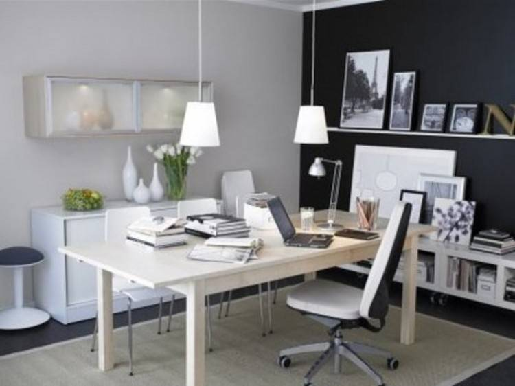 Extraordinary Home Office Decor Ideas That Will Make A Statement Pertaining  To Modern