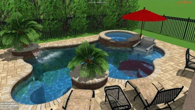 Full Size of Inground Swimming Pool Design Software Basic In Ground Designs  Diy Concrete Plans Small