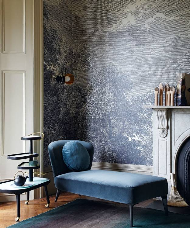 Sometimes all you need is a little paint in an unexpected application to  transform a room