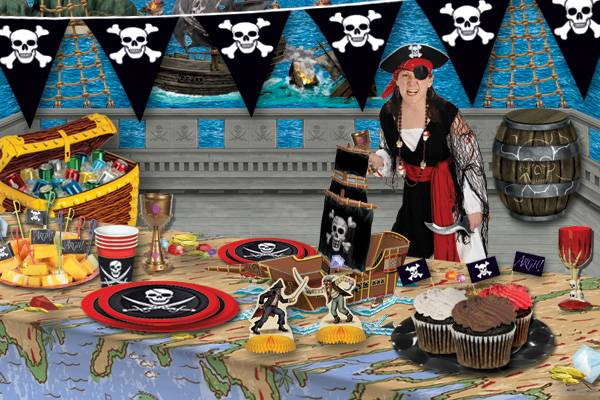 centerpieces for pirate party pirate theme party decoration ideas