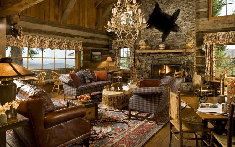 Bedroom Rustic Ideas Aweso Lovely Wall Room Elegant Outdoor Elegance Log  Cabin Mountain Western House Barn Orating Set Style Designs Modern Living  Kitchen