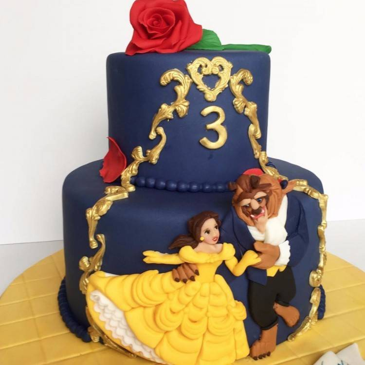 beauty and the beast birthday decorations