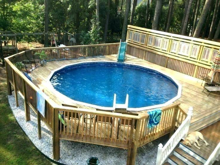 wood Swimming Pool Designs Medium size Inground Swimming  Pool Deck Designs Above Ground