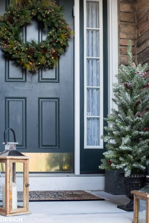 Last Minute Holiday Decoration Ideas Front Porches Porch And Outdoor  Decorating Pictures Awesome Christmas With