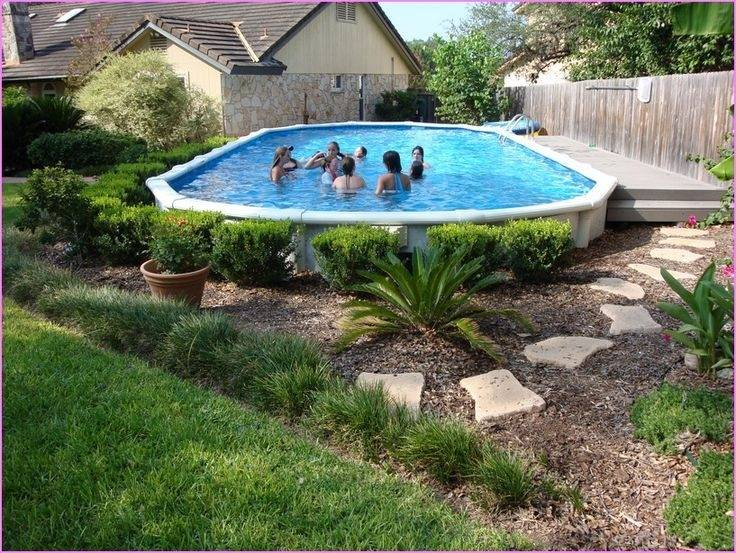 Beautiful Above Ground Pools Pool Area Pictures Images Appealing Above Deck Designs  Design Ideas Semi Landscaping Rocks Ground Pictures Of Above Ground