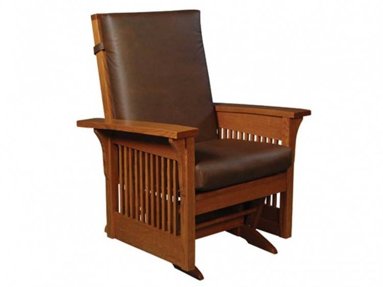 Glider Bench with Side Tray