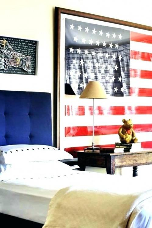 Patriotic Decorating Ideas in Red, White and Blue