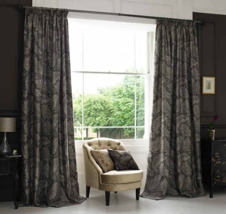 Full Size of Bedroom Living Room Window Treatments For Large Windows Brown  Curtains For Bedroom Window