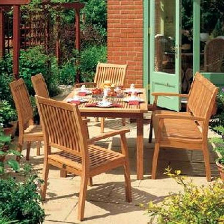 farmhouse patio table furniture ideas for an outdoor oasis