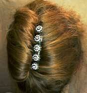 Using Byrd Designs Hair  Accessories for a French Twist