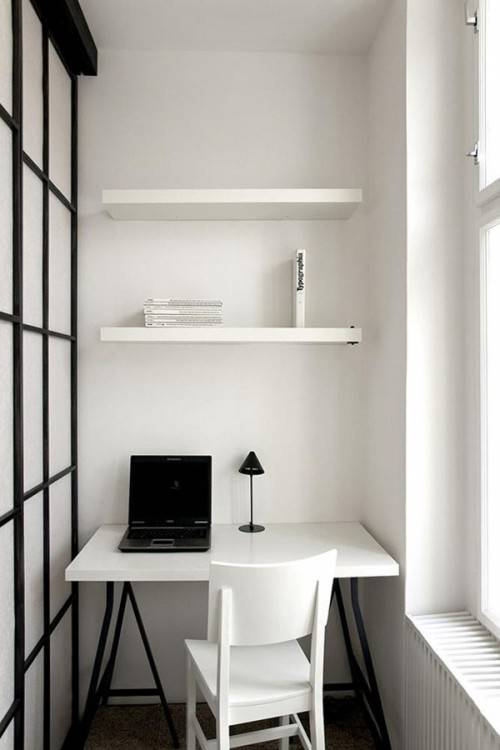 in Creative Small Home Office Ideas To Increase Your  Productivity